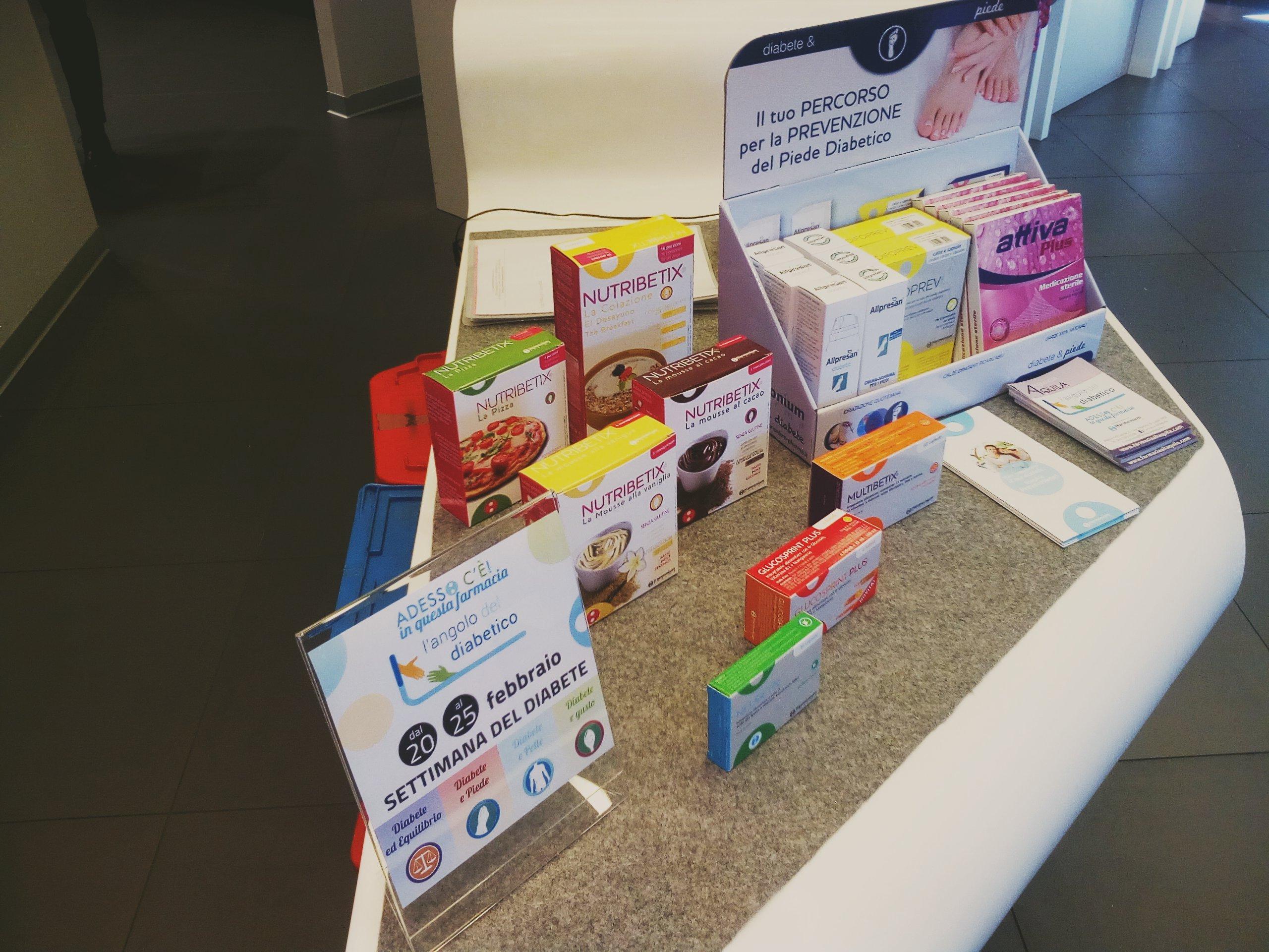 settimana del diabete trovi i prodotti specifici per diabetici